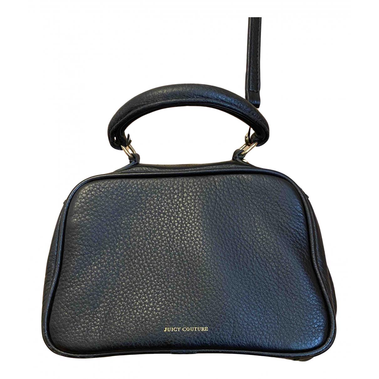 Juicy Couture \N Handtasche in  Schwarz Leder