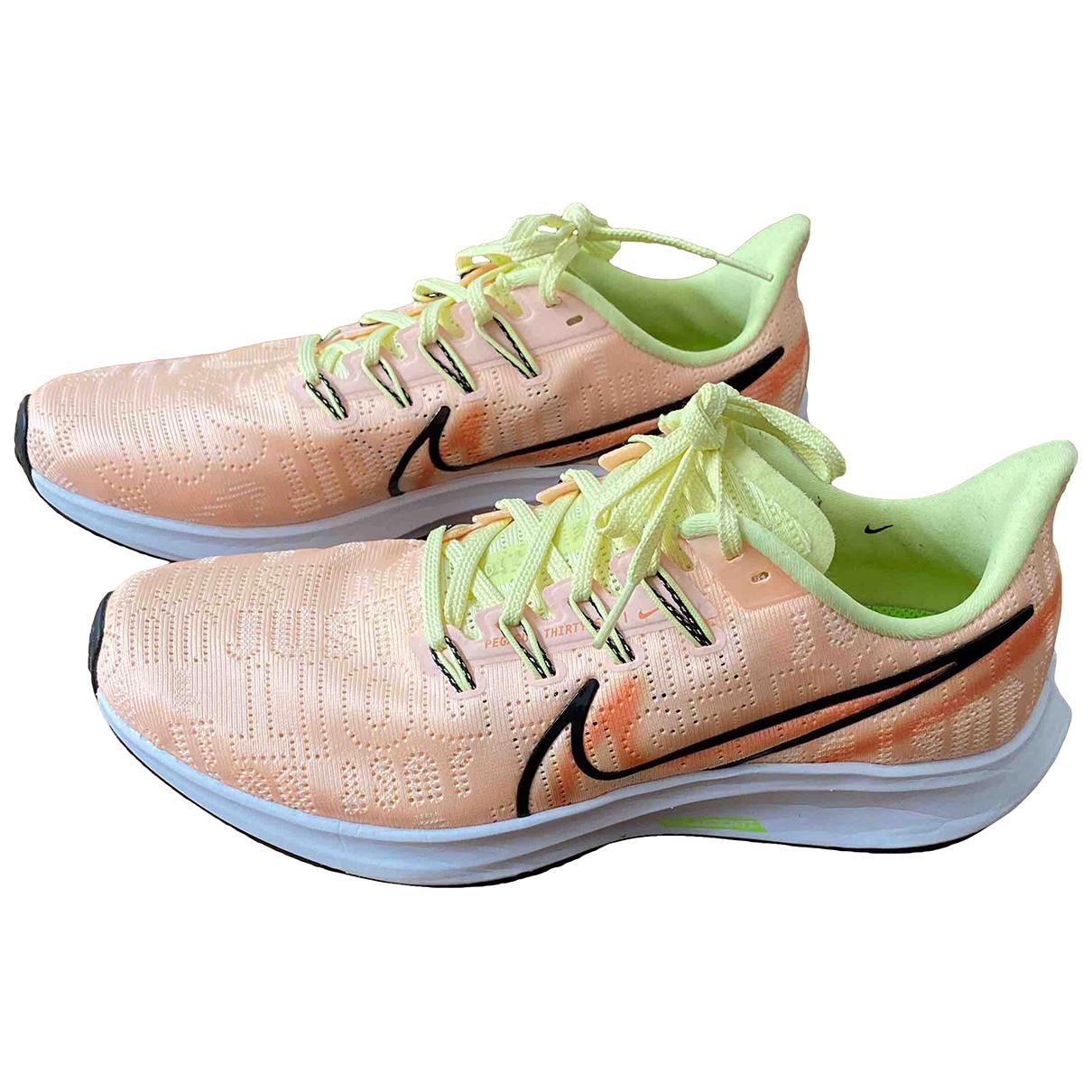 Nike Zoom Pink Cloth Trainers for Women 40 EU