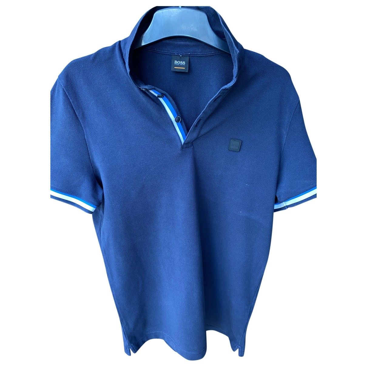 Boss \N Navy Cotton Polo shirts for Men M International
