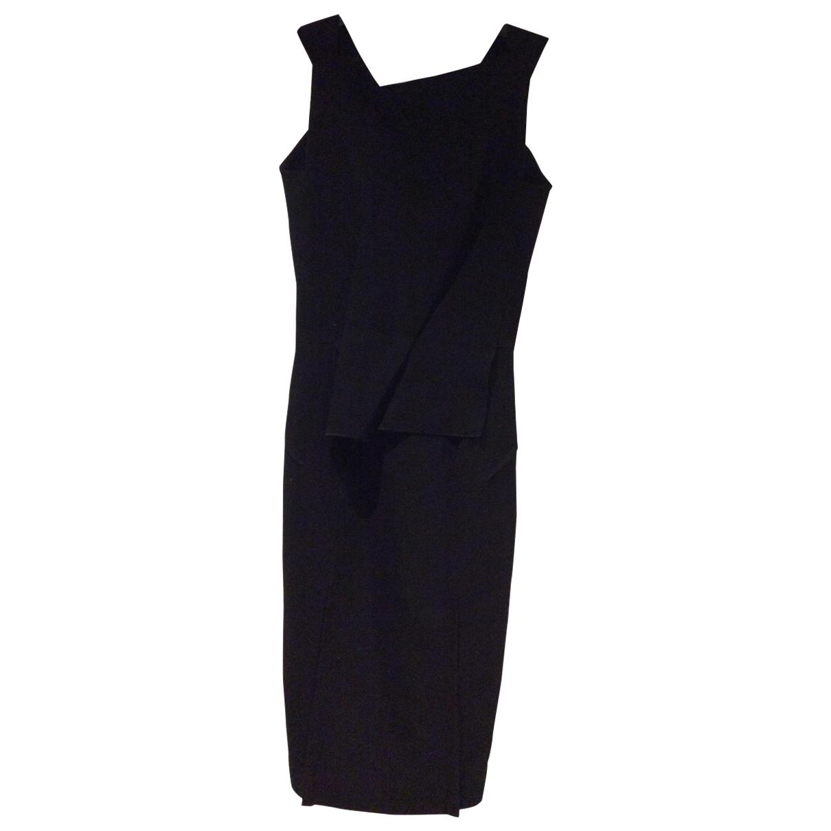Roland Mouret \N Black Wool dress for Women 8 UK