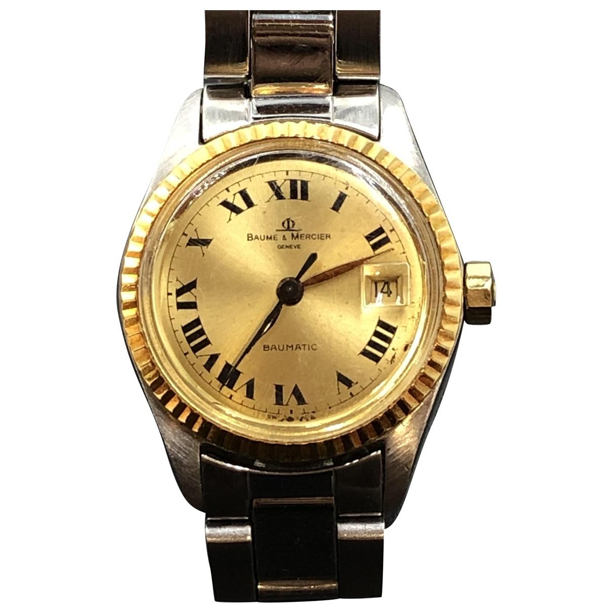 Baume Et Mercier \N Steel watch for Women \N