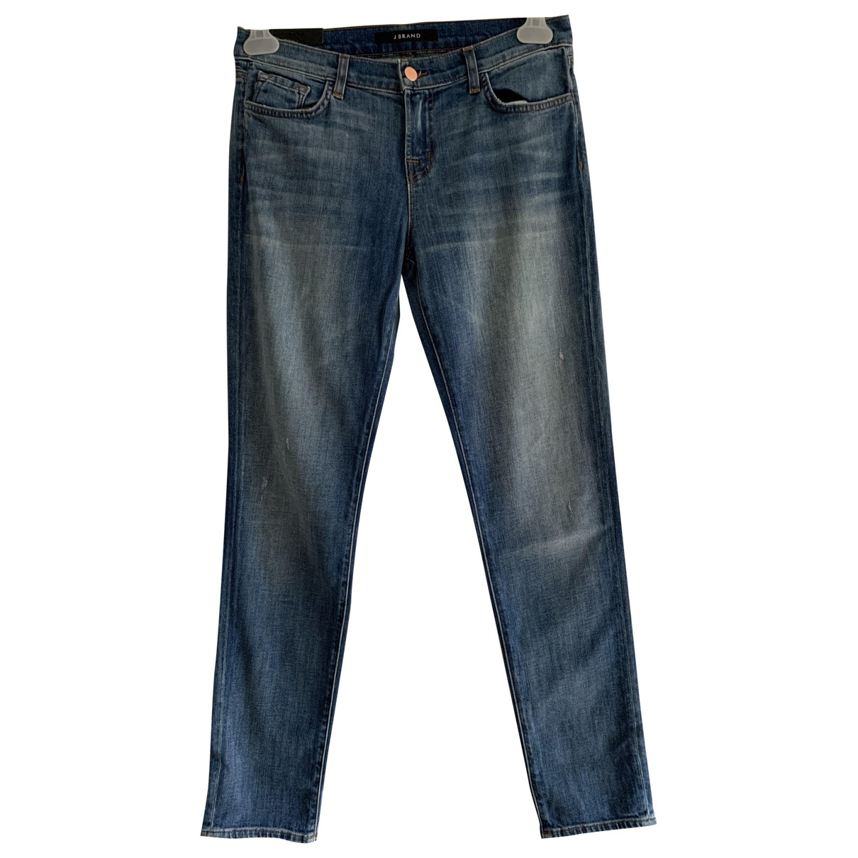 J Brand \N Blue Cotton - elasthane Jeans for Women 26 US