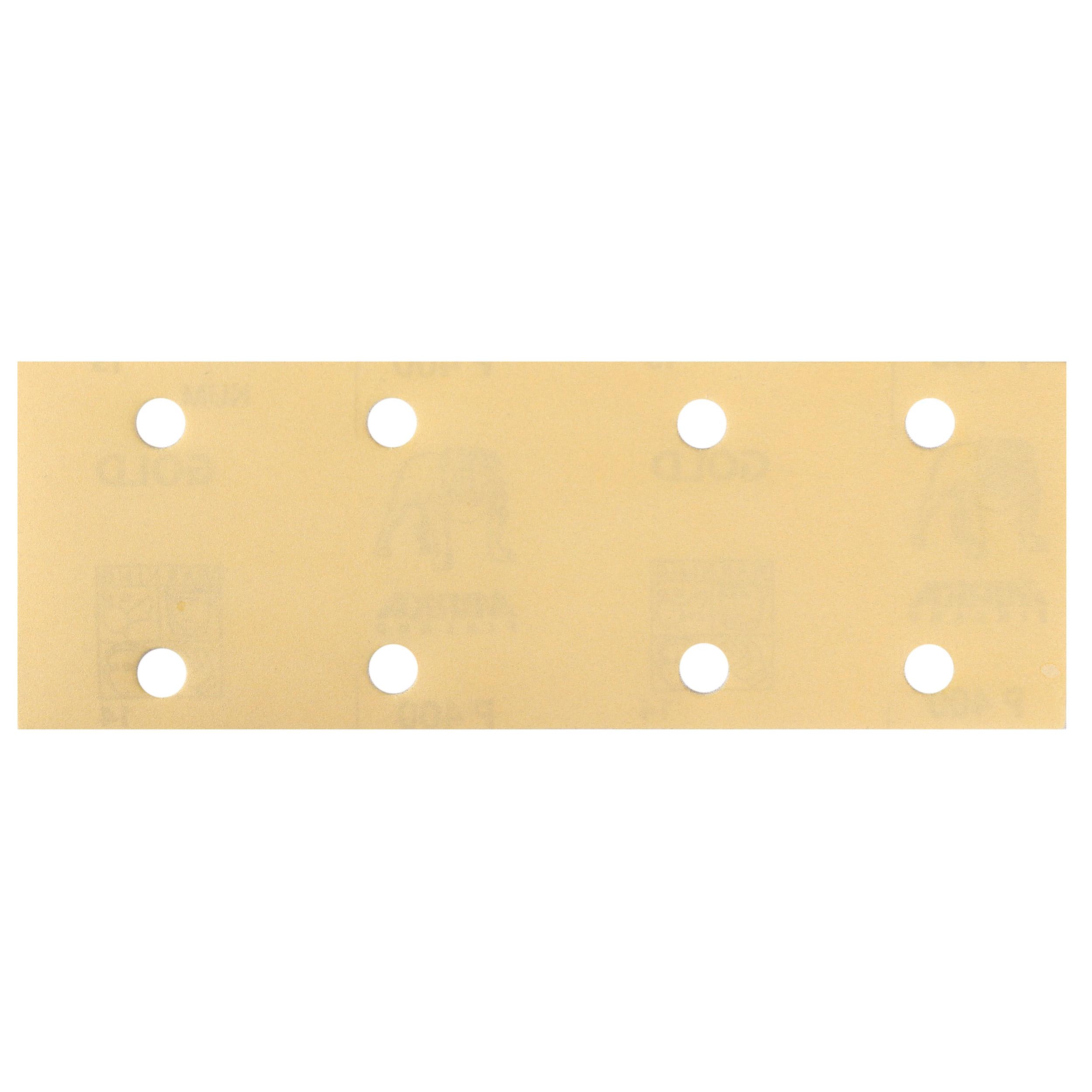"GOLD 2.75x8"" Grip Sandpaper, 8H P120, 50 Sheets/Box"