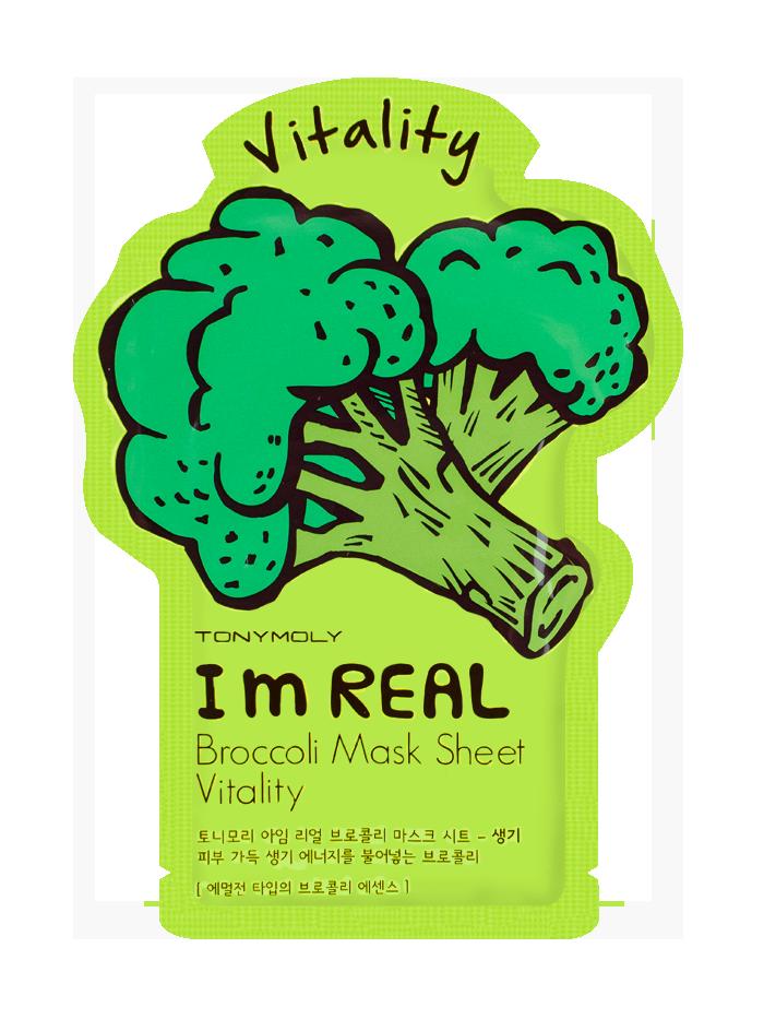 Im Broccoli Sheet Mask - Vitality