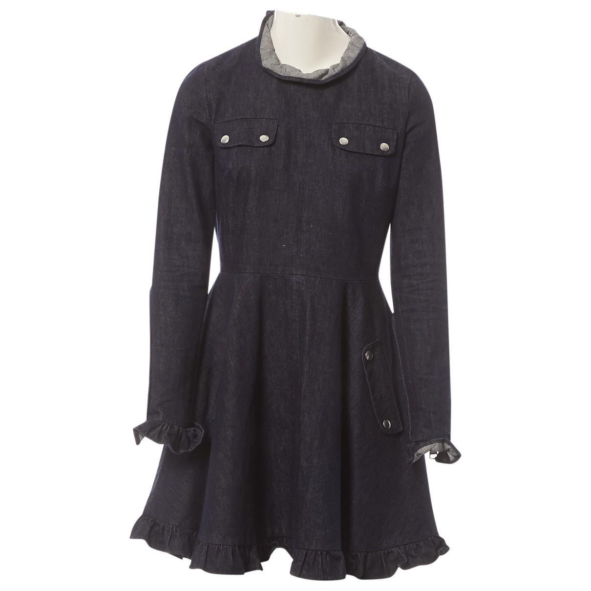 J.w. Anderson \N Blue Denim - Jeans dress for Women 8 UK
