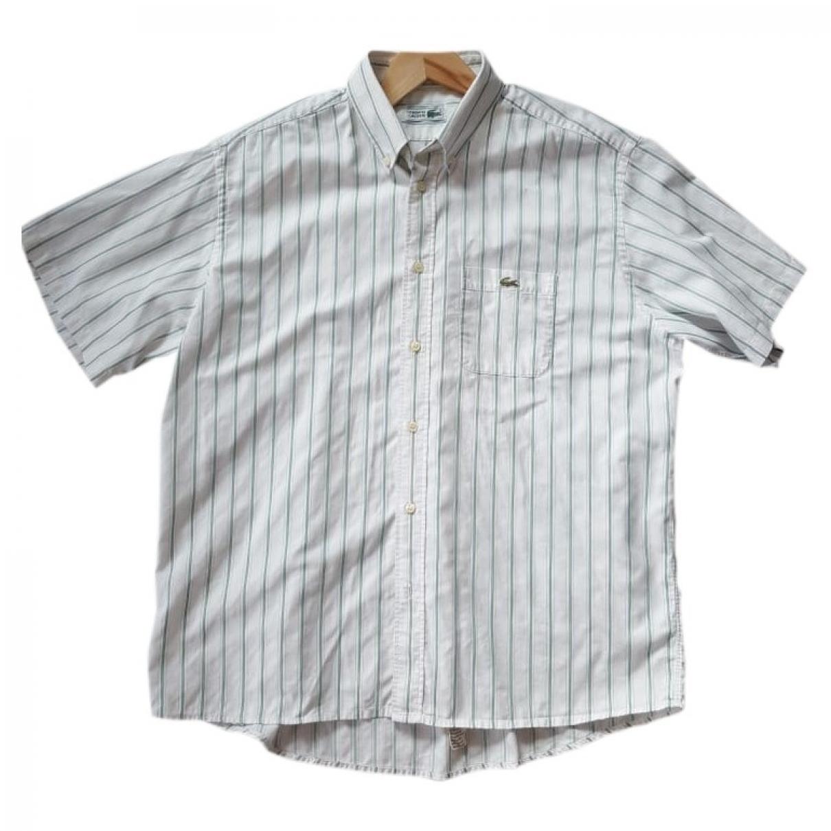 Lacoste \N White Cotton Shirts for Men XL International