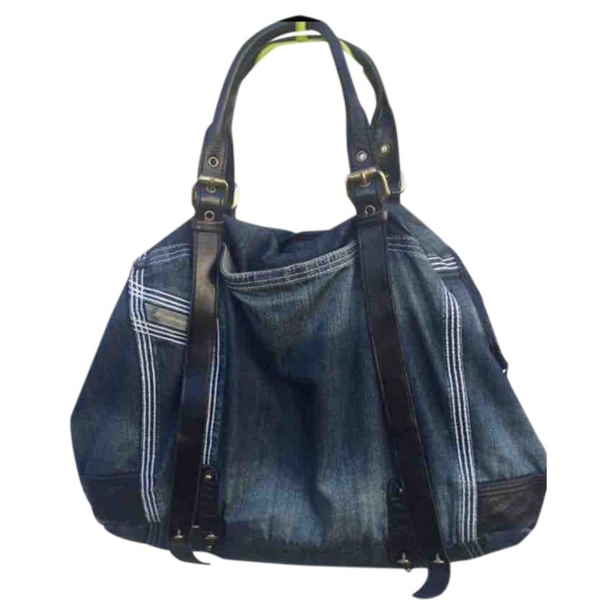 Diesel \N Blue Denim - Jeans handbag for Women \N