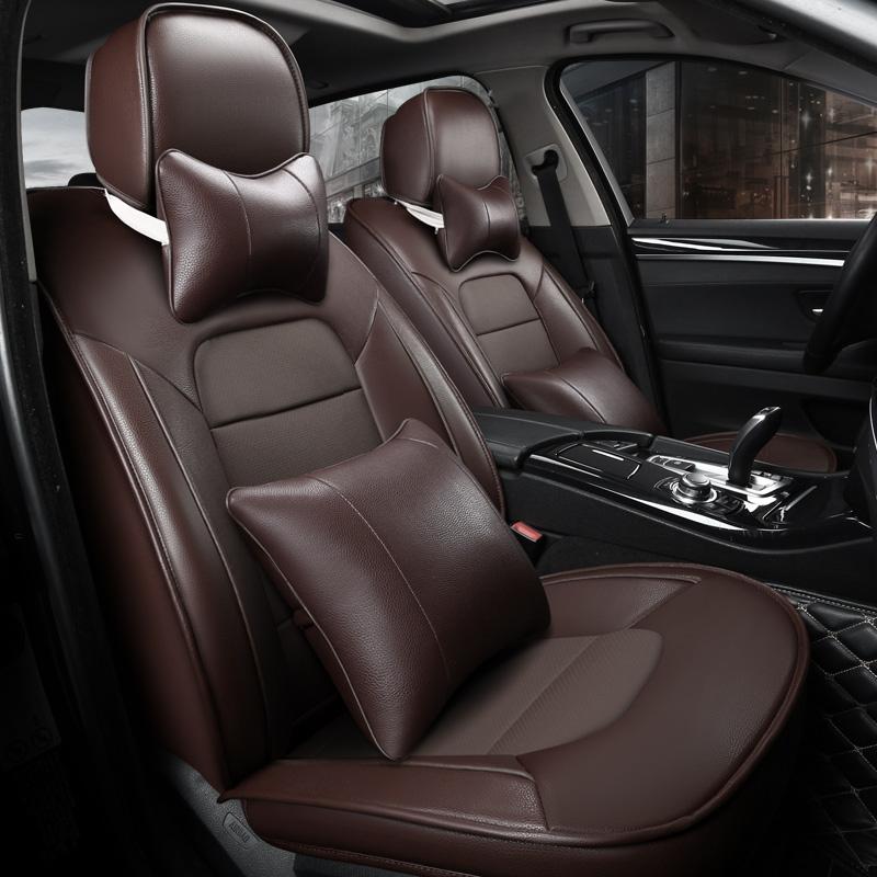 Luxurious Tasteful High-grade Leather Soft Custom Car Seat Covers