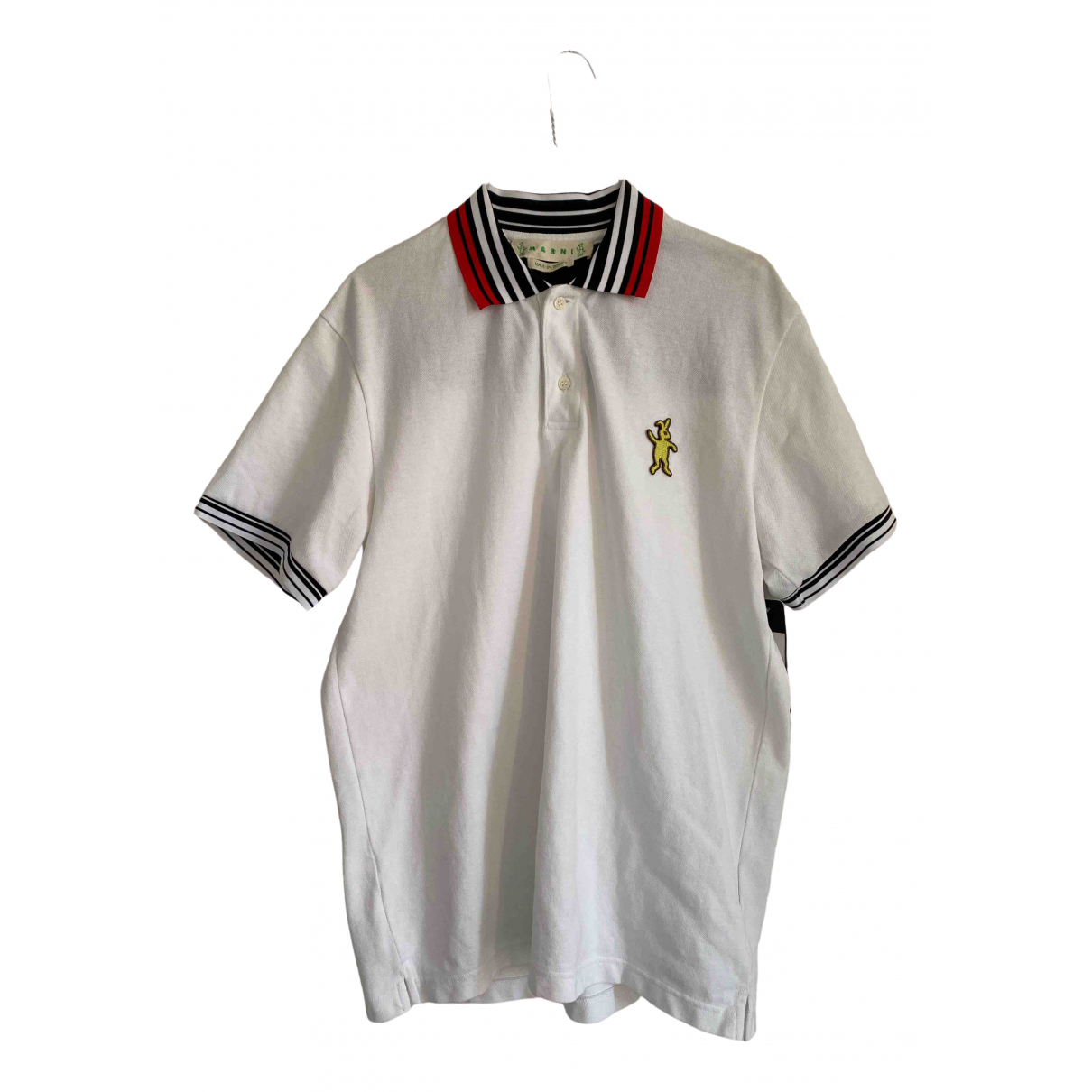 Marni \N Poloshirts in  Weiss Baumwolle