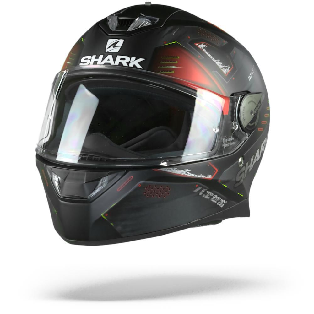Shark Skwal 2 Venger Casco Integral (Full Face) Negro Matte Rojo Antracito Kar XL