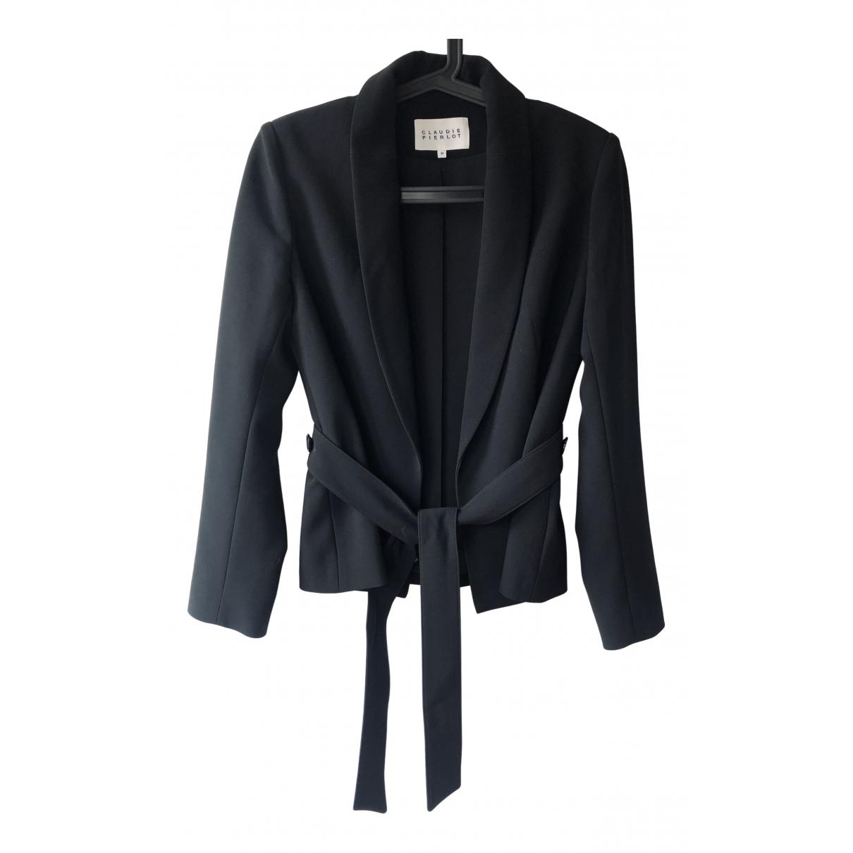 Claudie Pierlot N Black jacket for Women 36 FR