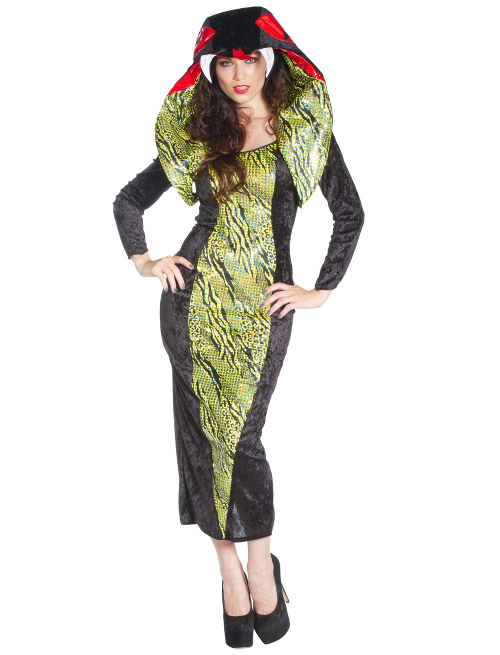 Damen-Kostuem Kleid Kobra Grosse: 34