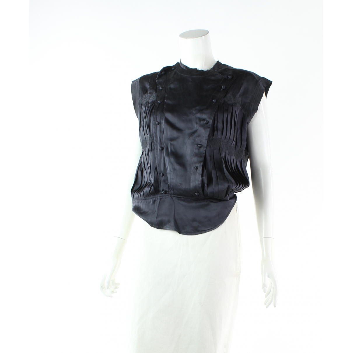 Isabel Marant N Black Silk  top for Women 34 FR