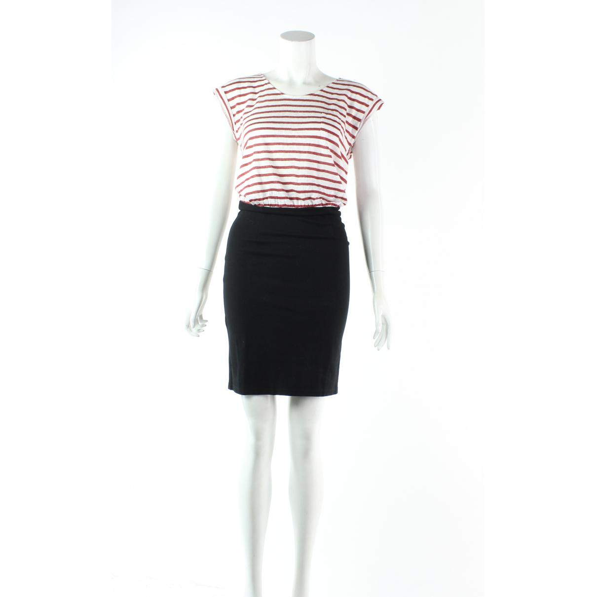 Sandro N Multicolour Linen dress for Women 8 UK