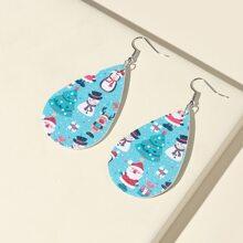 Christmas Water Drop Earrings