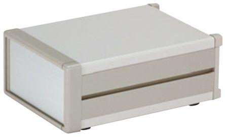 Takachi Electric Industrial MS, Grey, Aluminium & Steel Project Box, 230 x 160 x 132.5mm