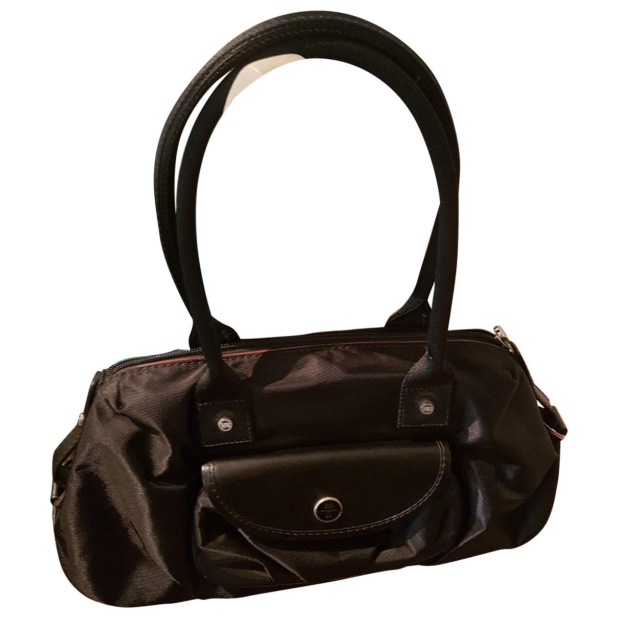 Lancel \N Handtasche in  Schwarz Leinen