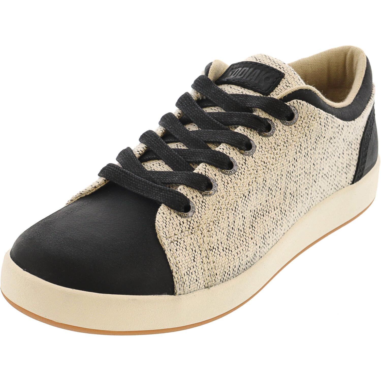 Kodiak Women's Indra Black Cream Traction Ankle-High Fabric Sneaker - 6.5M