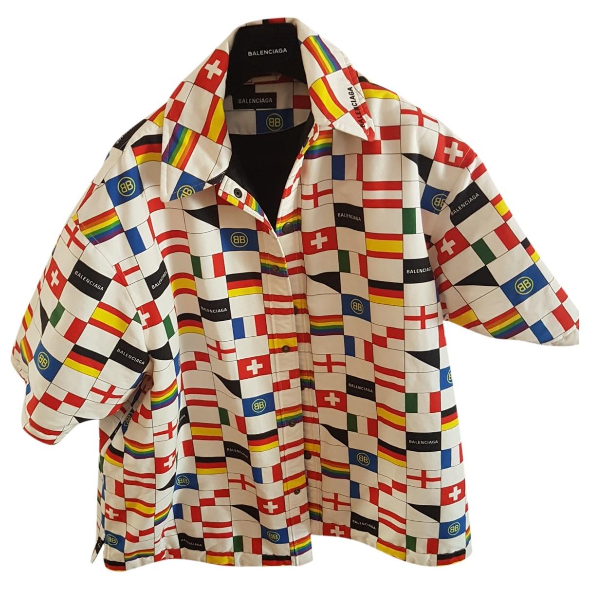 Balenciaga - Vestes.Blousons   pour homme en coton - multicolore