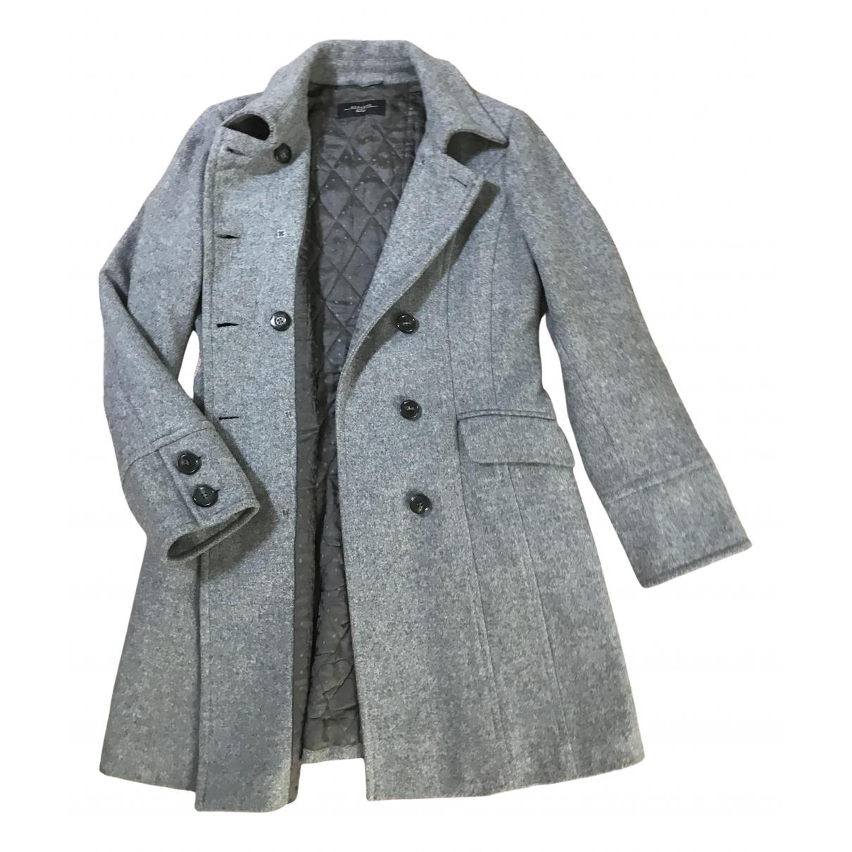 Max Mara Weekend \N Grey Wool coat for Women 46 IT