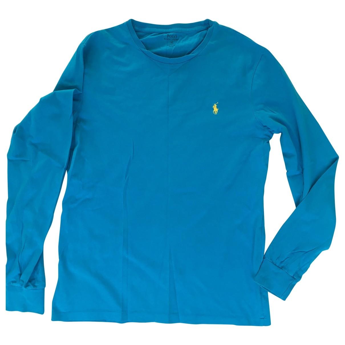 Polo Ralph Lauren - Pulls.Gilets.Sweats   pour homme en coton - bleu