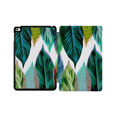 Apple iPad mini 4 Tablet Smart Case - Green Leaves von Mareike Bohmer