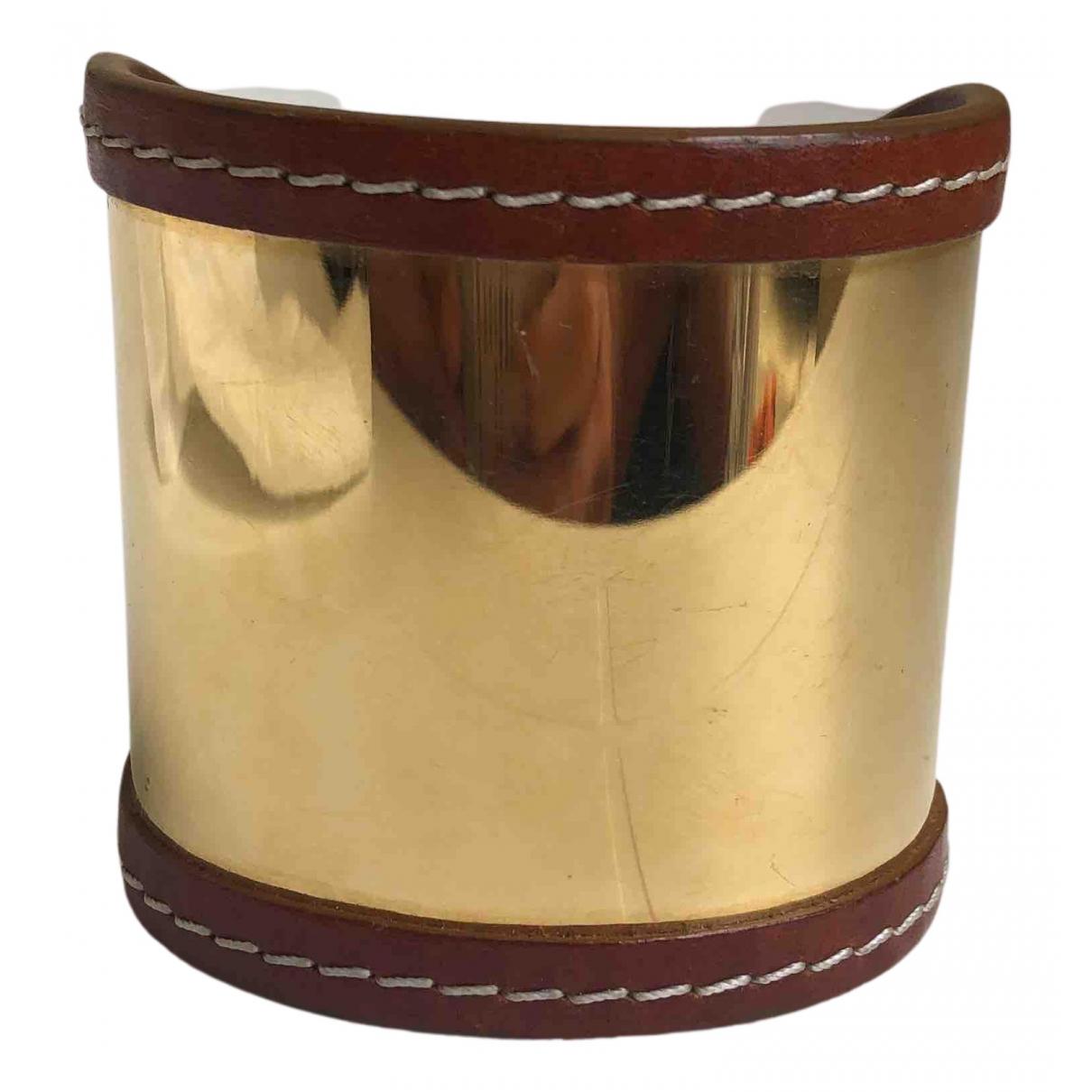 Michael Kors - Bracelet   pour femme en cuir - dore