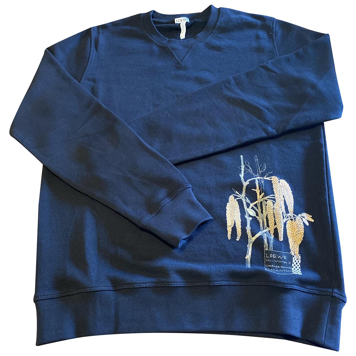 Loewe N Black Cotton Knitwear & Sweatshirts for Men S International