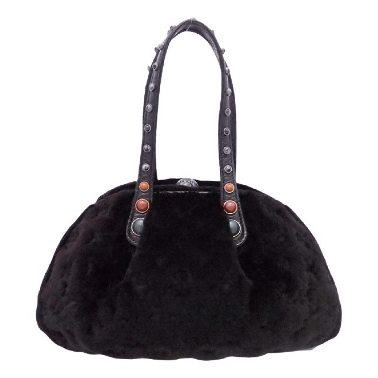 Louis Vuitton \N Brown Fur handbag for Women \N