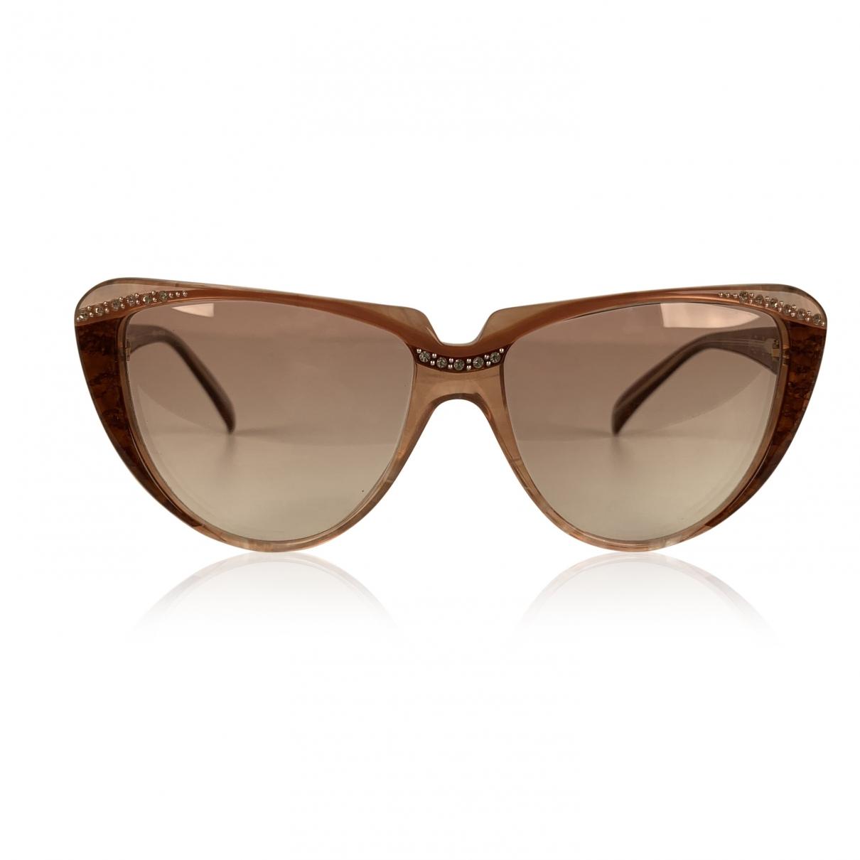 Yves Saint Laurent \N Sonnenbrillen in  Rosa Kunststoff