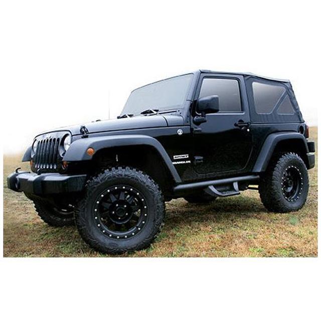 Fab Fours J1001 Side Steps 07-18 Jeep Wrangler JK 2 Door Bare