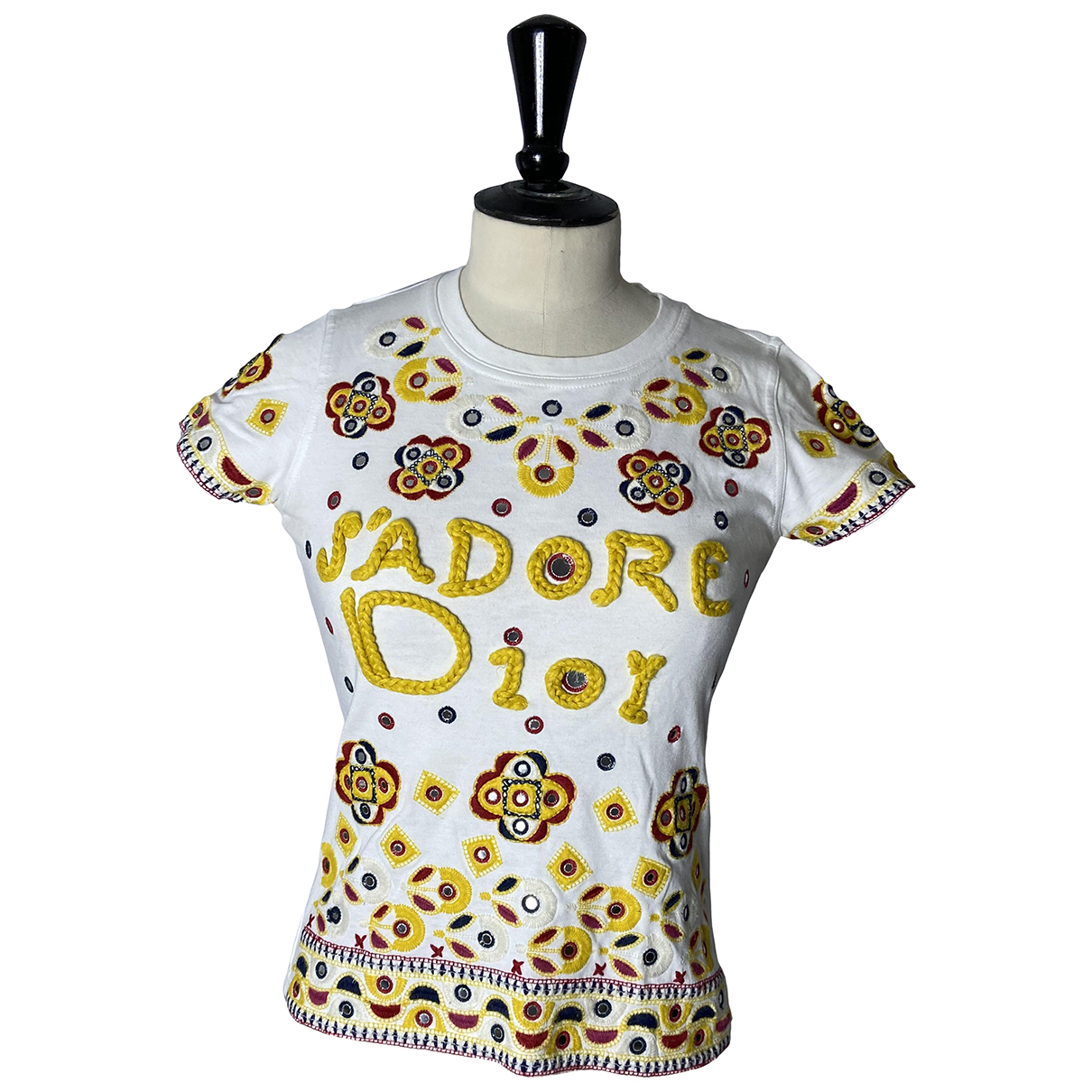 Dior \N White Cotton  top for Women 36 FR