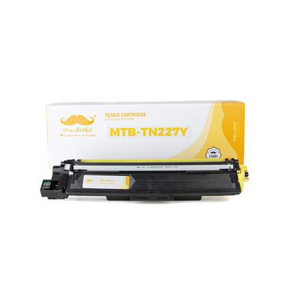 Brother TN227 cartouche de toner compatible jaune haute capacité de tn223 - sans puce