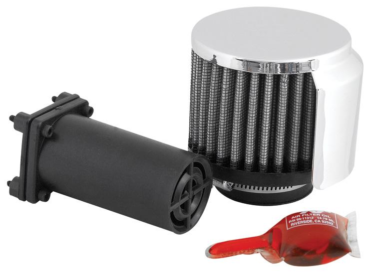 K&N 85-1222 Air Filter Vent Kit