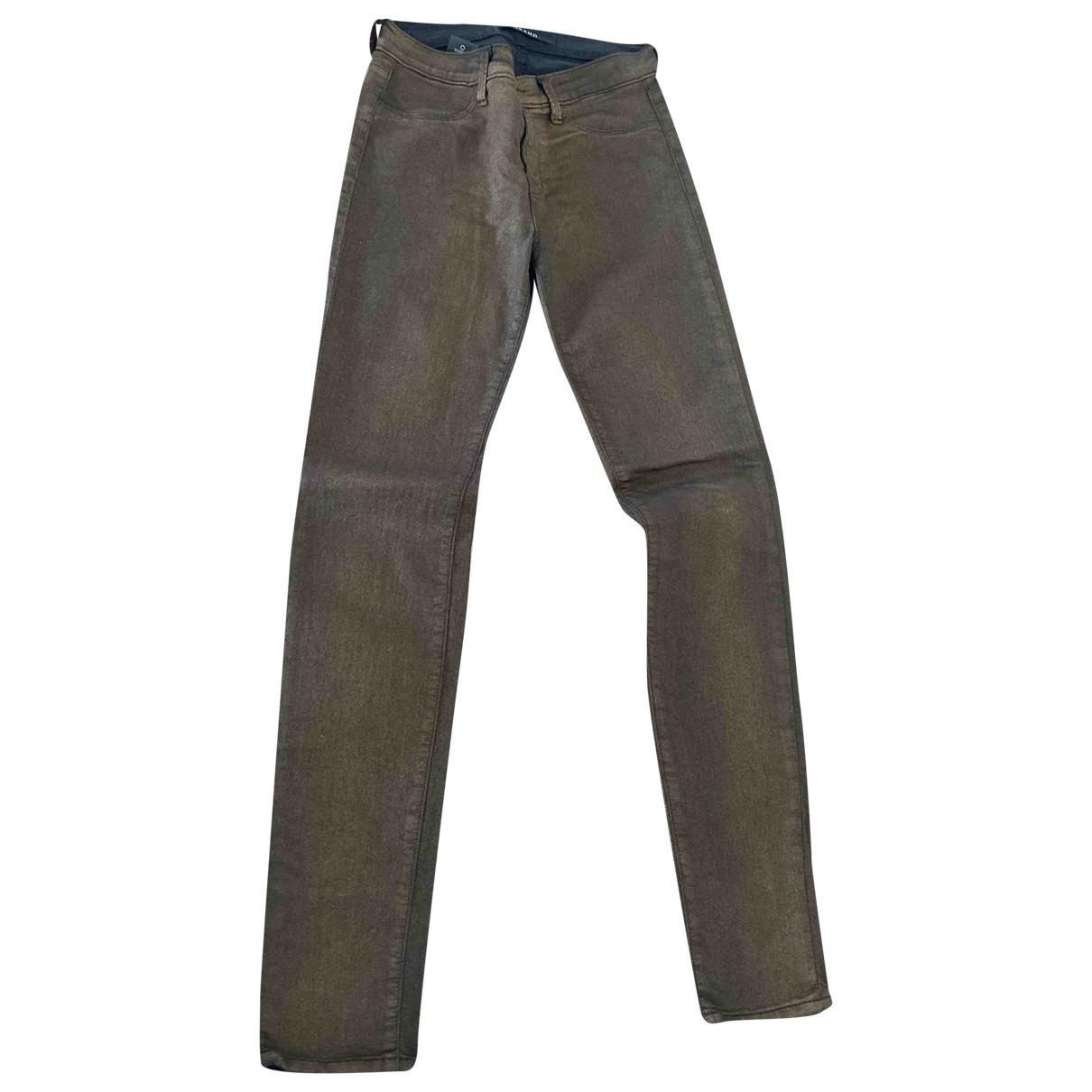 J Brand \N Metallic Denim - Jeans Jeans for Women 28 US