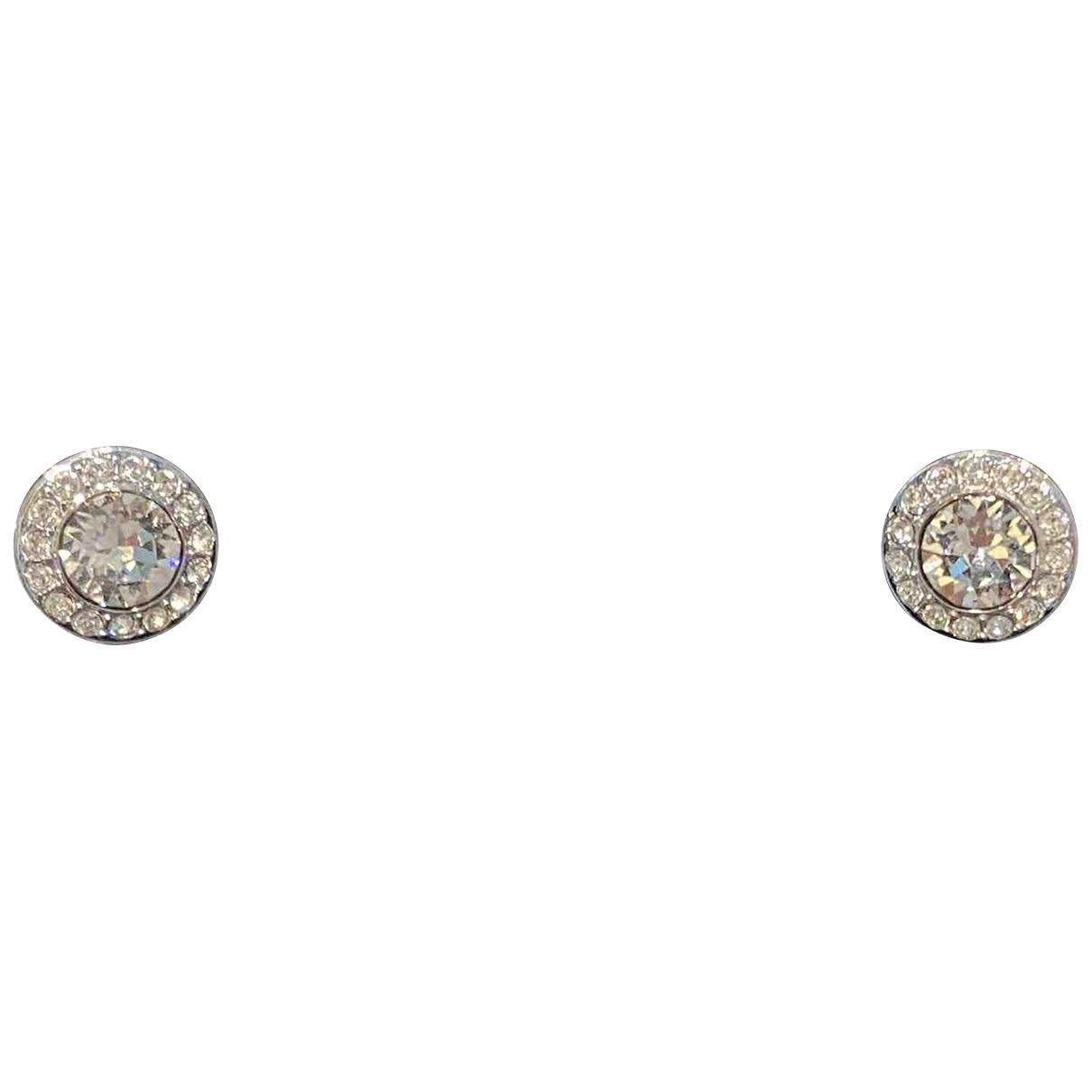 Swarovski - Boucles doreilles   pour femme en cristal - blanc