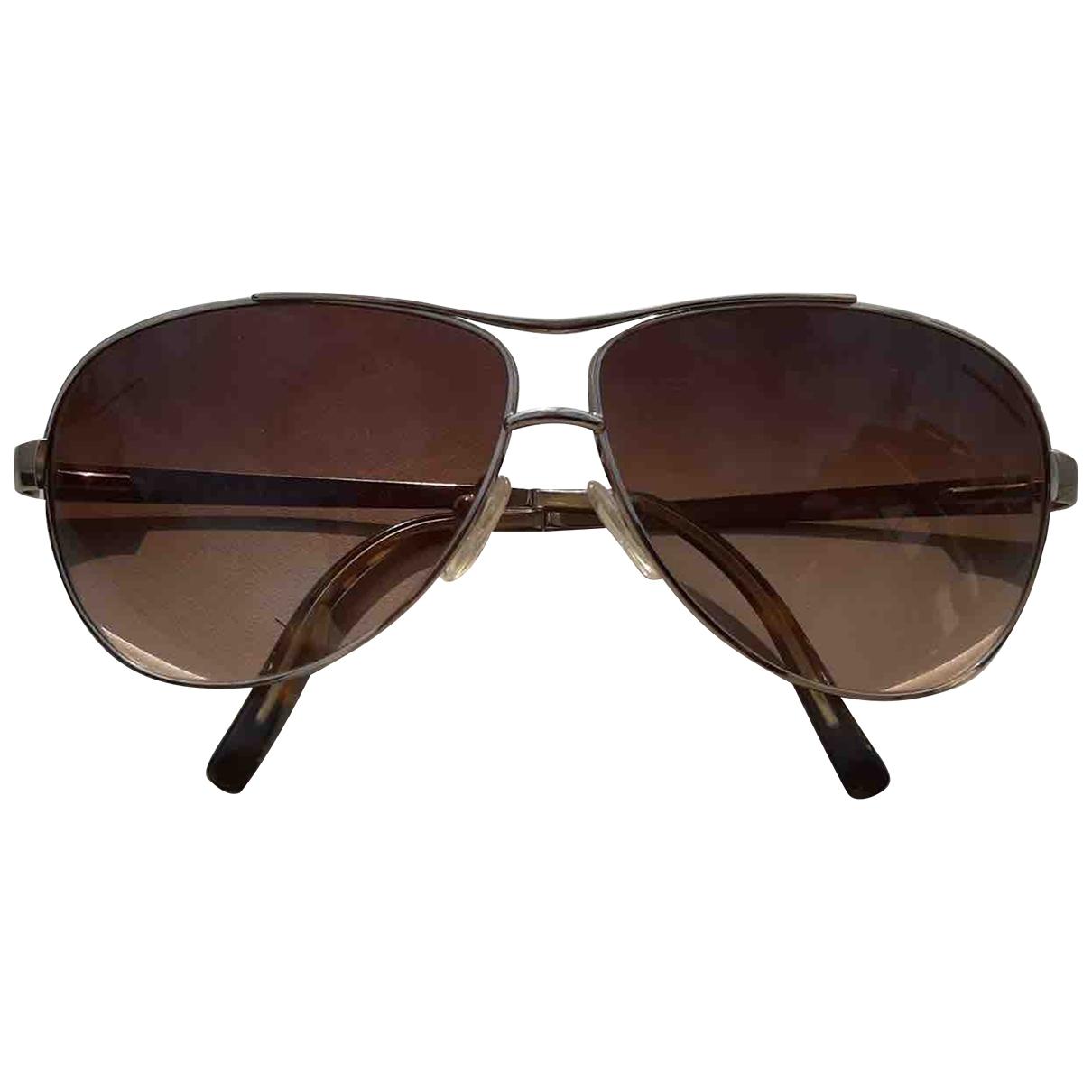 Prada \N Sonnenbrillen in  Braun Metall
