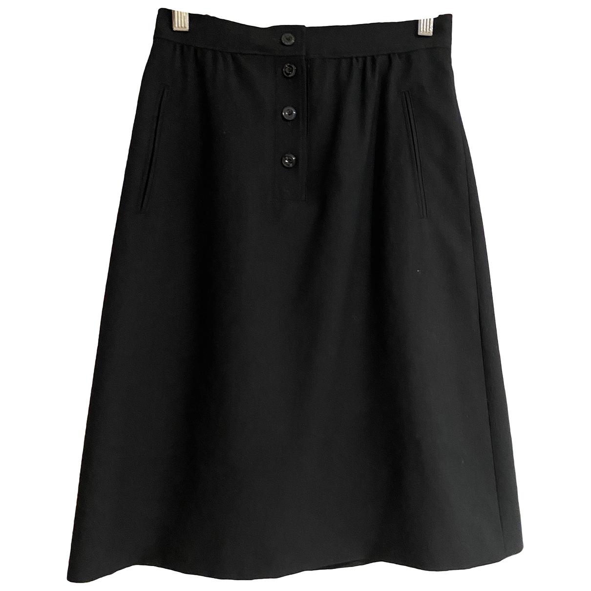 Apc \N Black Wool skirt for Women 34 FR