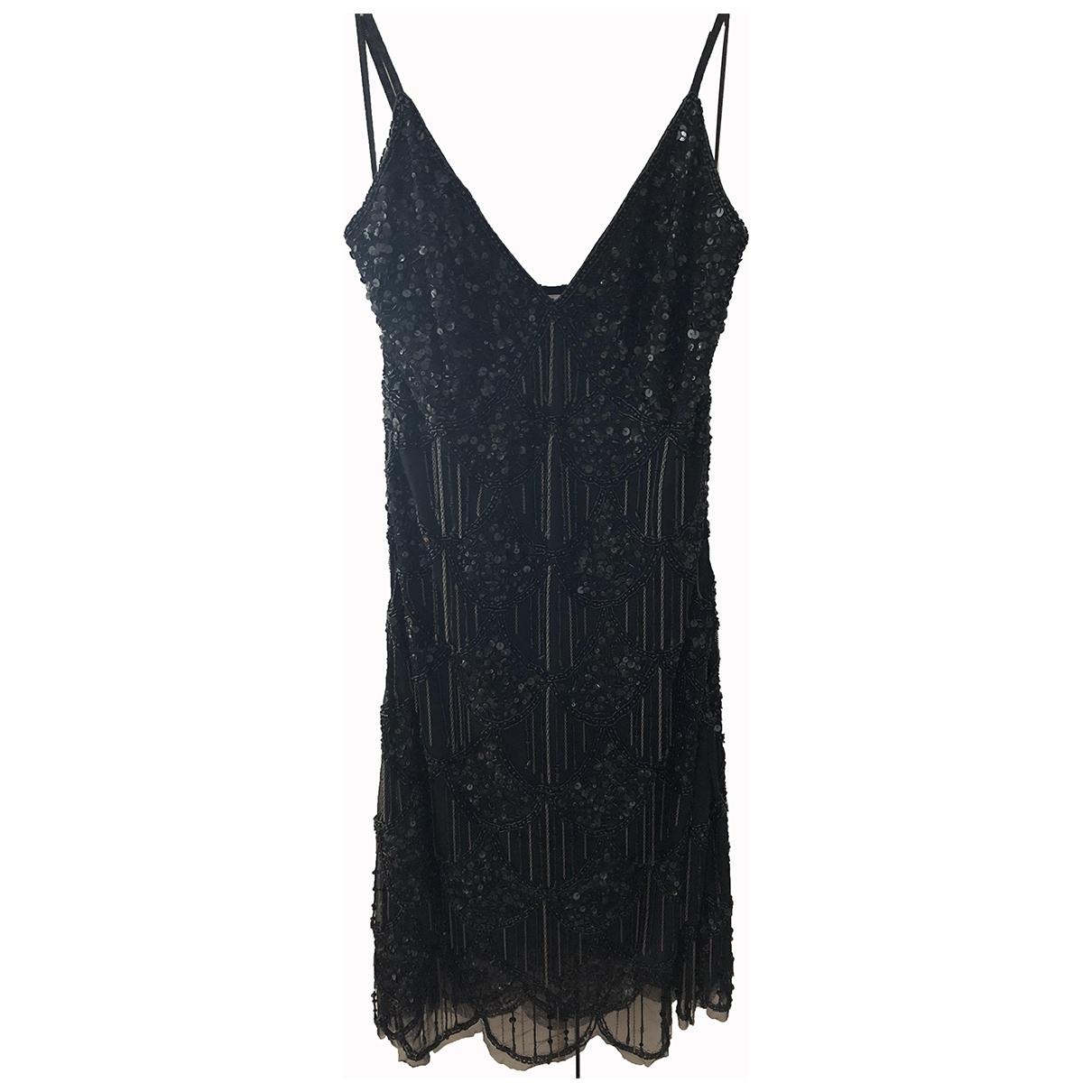 Guess - Robe   pour femme en a paillettes - noir