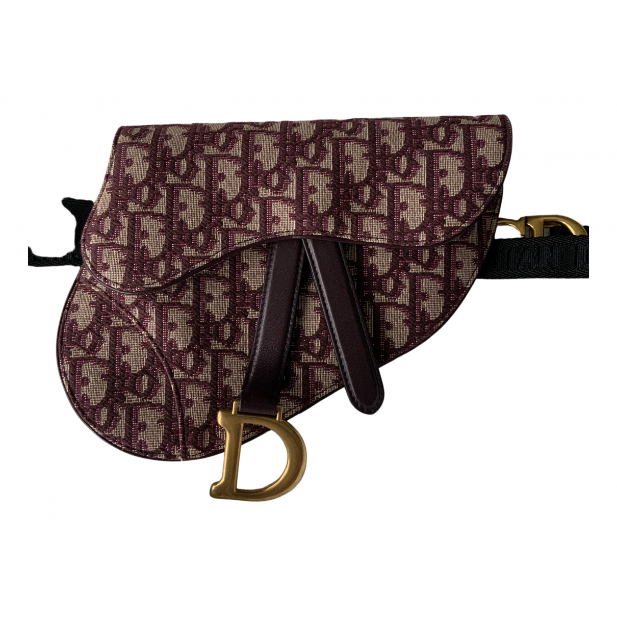 Bolso  Saddle de Lona Dior