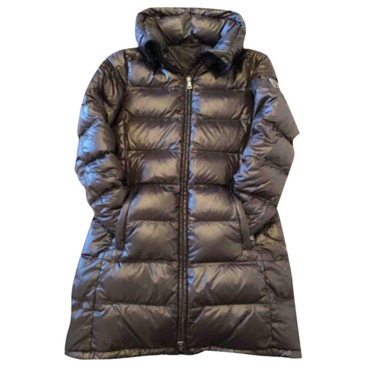 Prada \N Brown Cotton coat for Women 38 IT