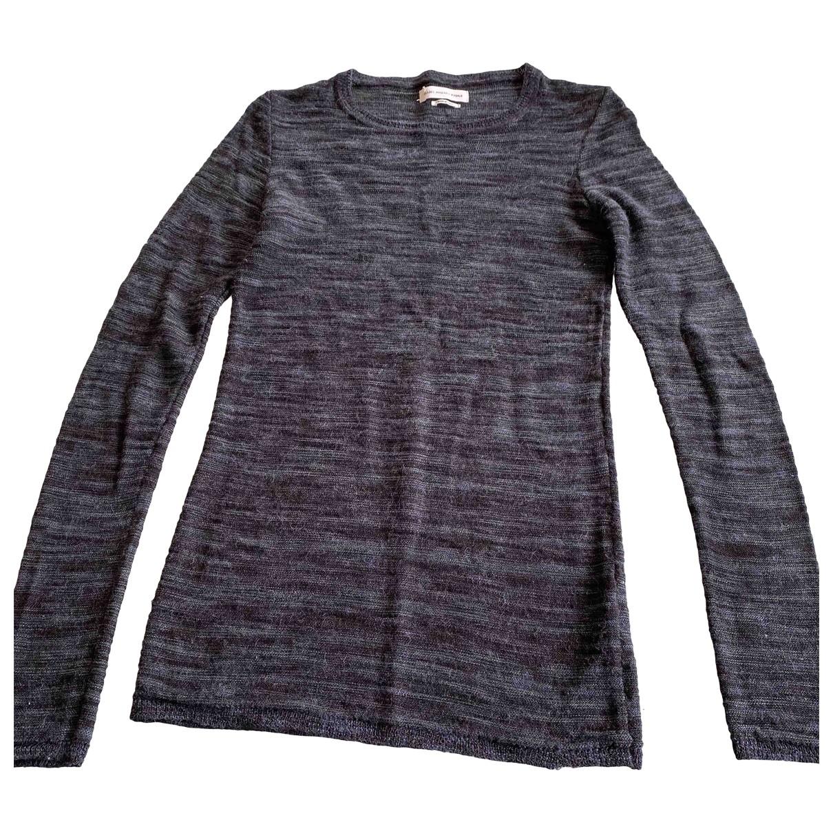 Isabel Marant Etoile - Pull   pour femme en laine - bleu