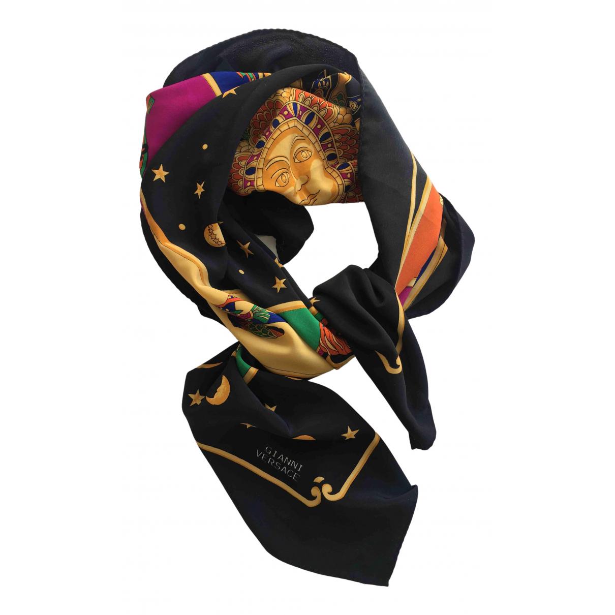 Versace - Foulard   pour femme en soie - multicolore
