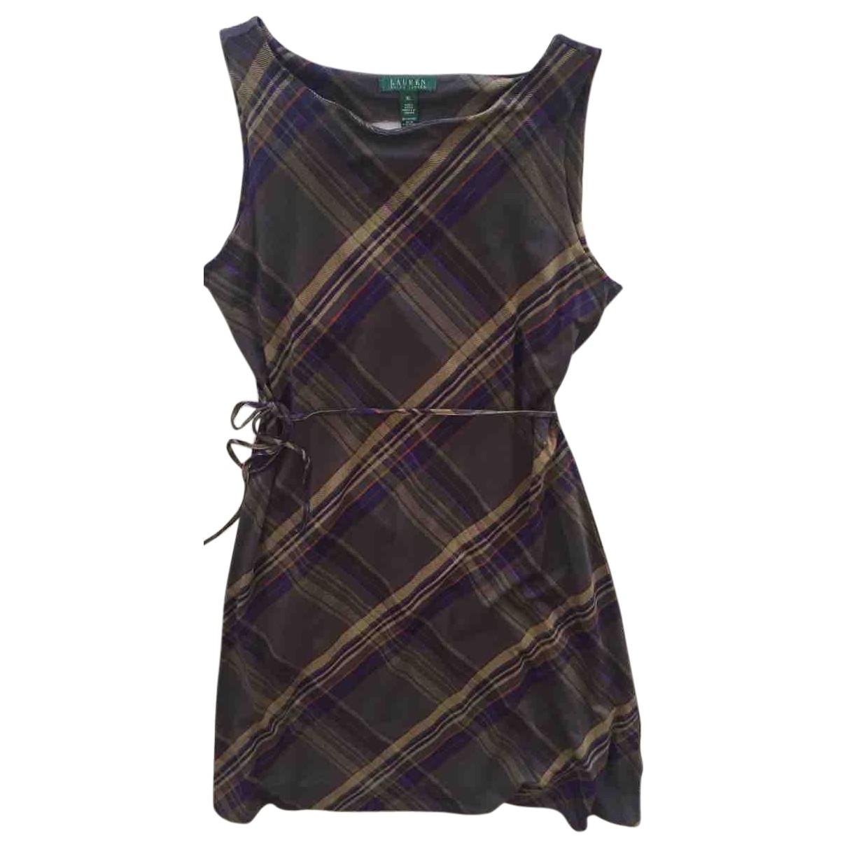 Lauren Ralph Lauren \N Multicolour Cotton - elasthane dress for Women XL International