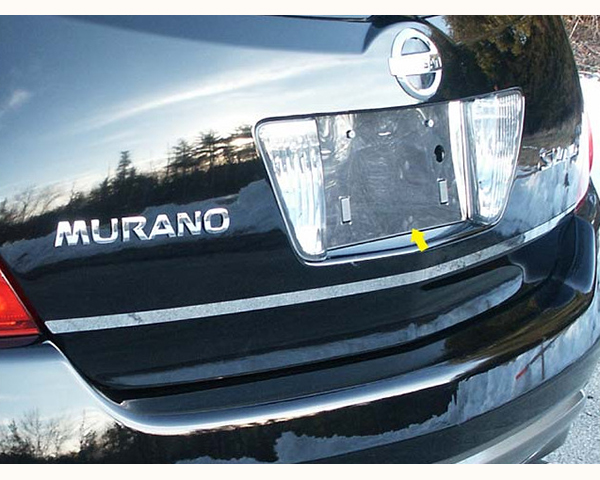 Quality Automotive Accessories 1-Piece License Plate Bezel Nissan Murano 2006