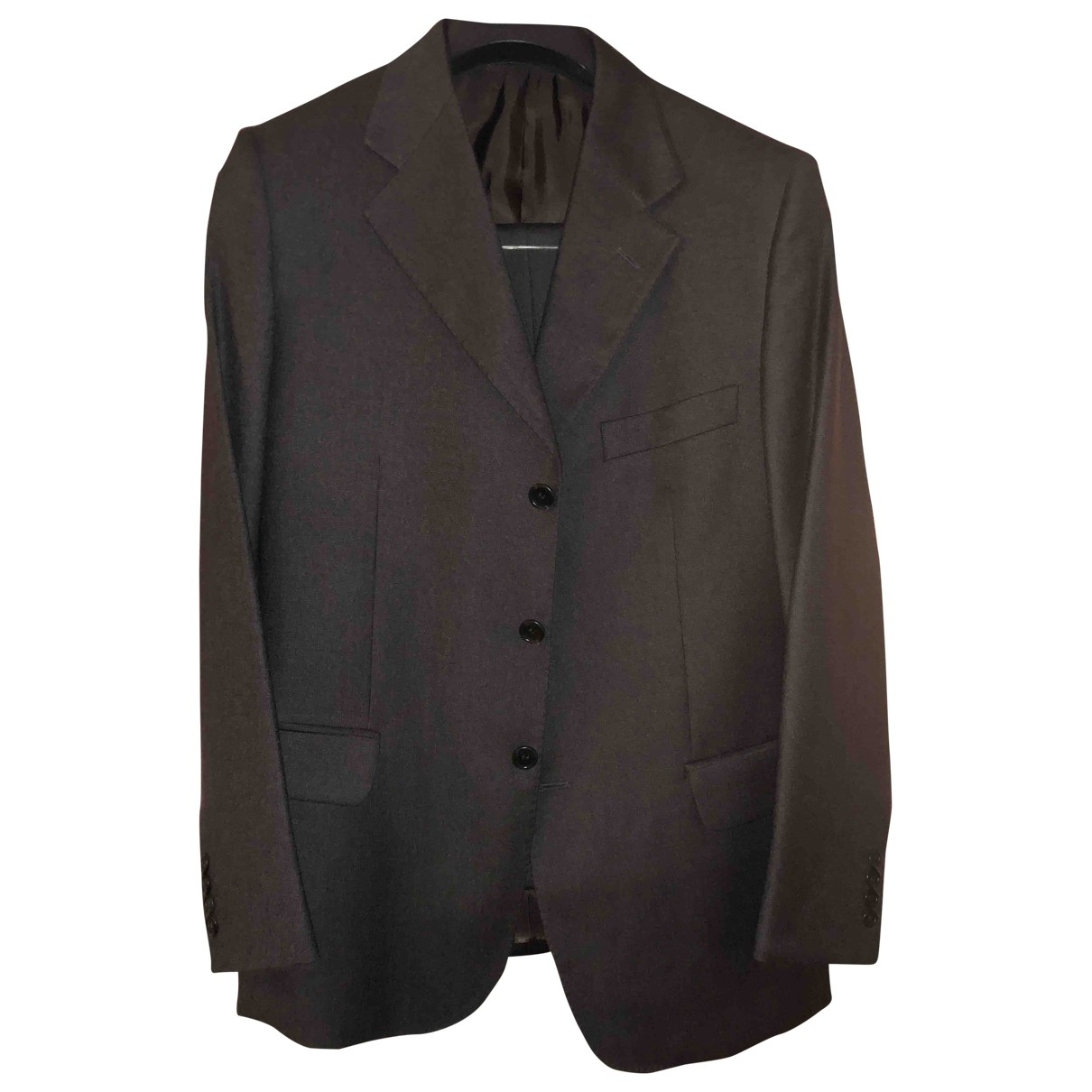 Loro Piana \N Brown Wool Suits for Men 46 IT