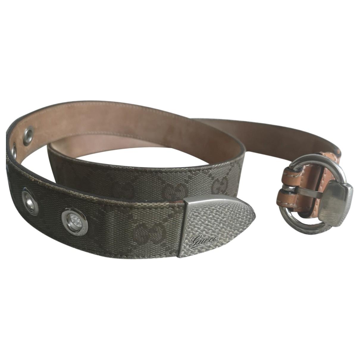 Gucci \N Cloth belt for Women 95 cm