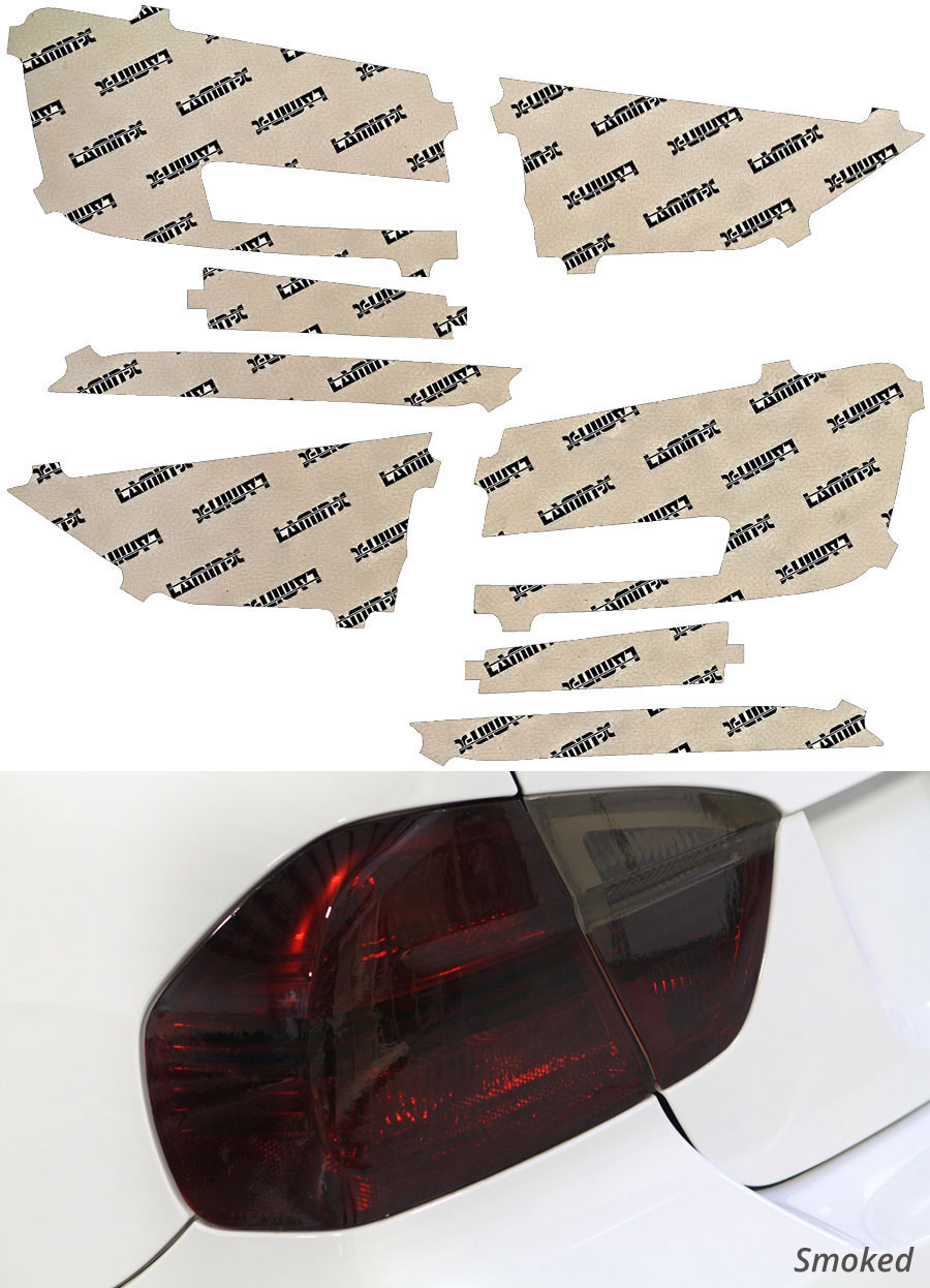 Audi A3 17-20 Smoked Tail Light Covers Lamin-X A251S