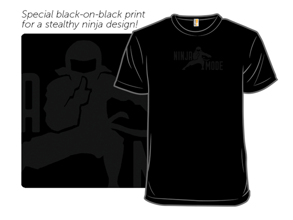 Ninja Mode T Shirt