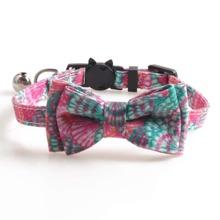 1pc Bow Decor Cat Collar